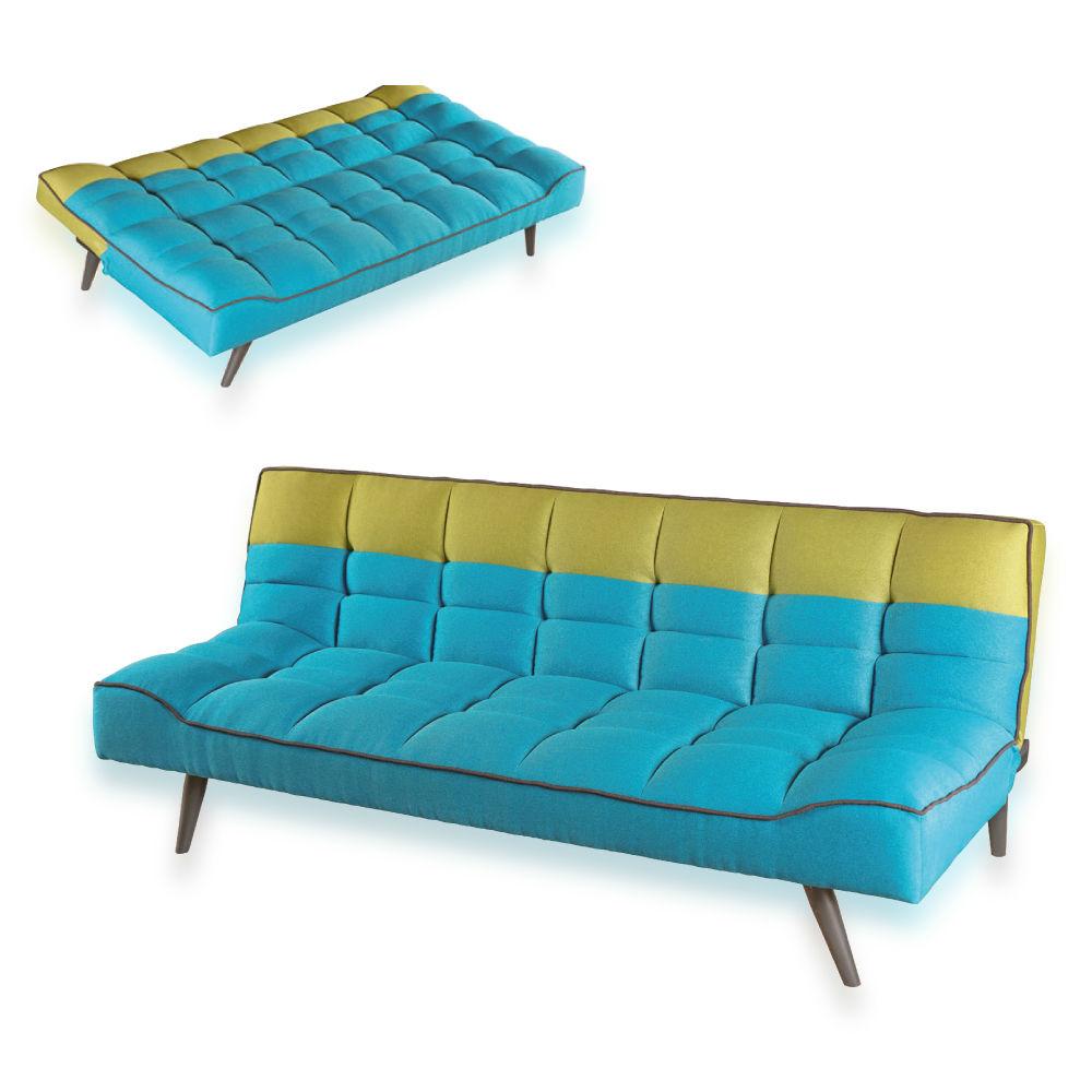 El-Hogar-del-Descanso-9-ClicClac-Bicolor-Sofa-Cama