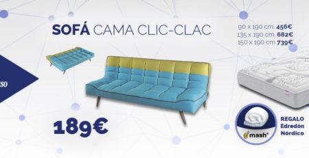 Sofá cama y colchón Flex