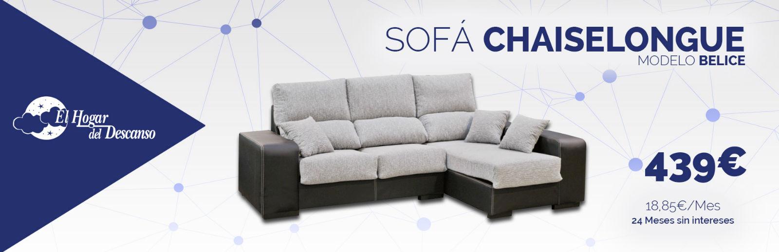 Sof s chaiselongue almer a el hogar del descanso for Sofa almeria