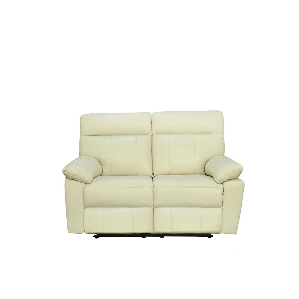 Sof venica piel blanco el hogar del descanso - Sofa piel blanco ...