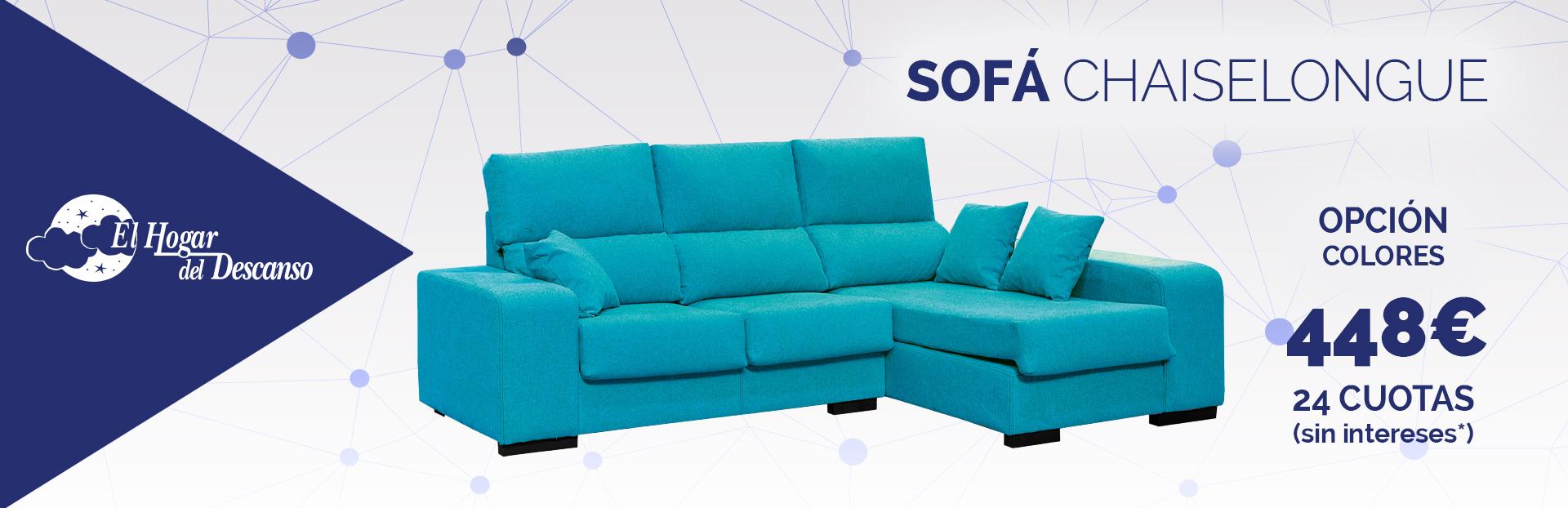 El color del sof chaiselongue almer a sof s almer a for Chaise longue azul turquesa