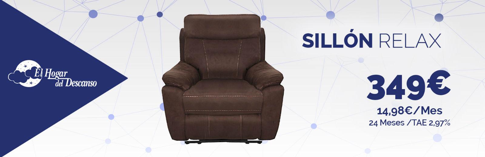 Sill n relax y chaiselongue promociones sillones tienda for Sofa almeria