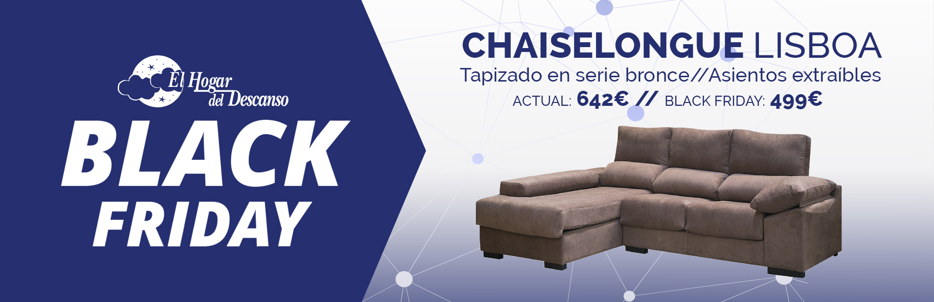 Comienza el black friday en nuestras tiendas chaiselongue - Chaise black friday ...