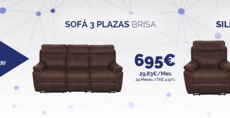 Sofá y sillón relax